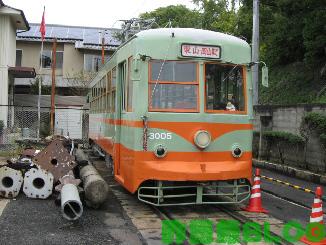 岡山電気軌道3000型01